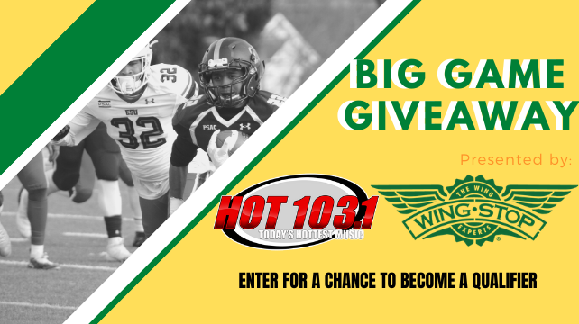 The Big Game Giveaway